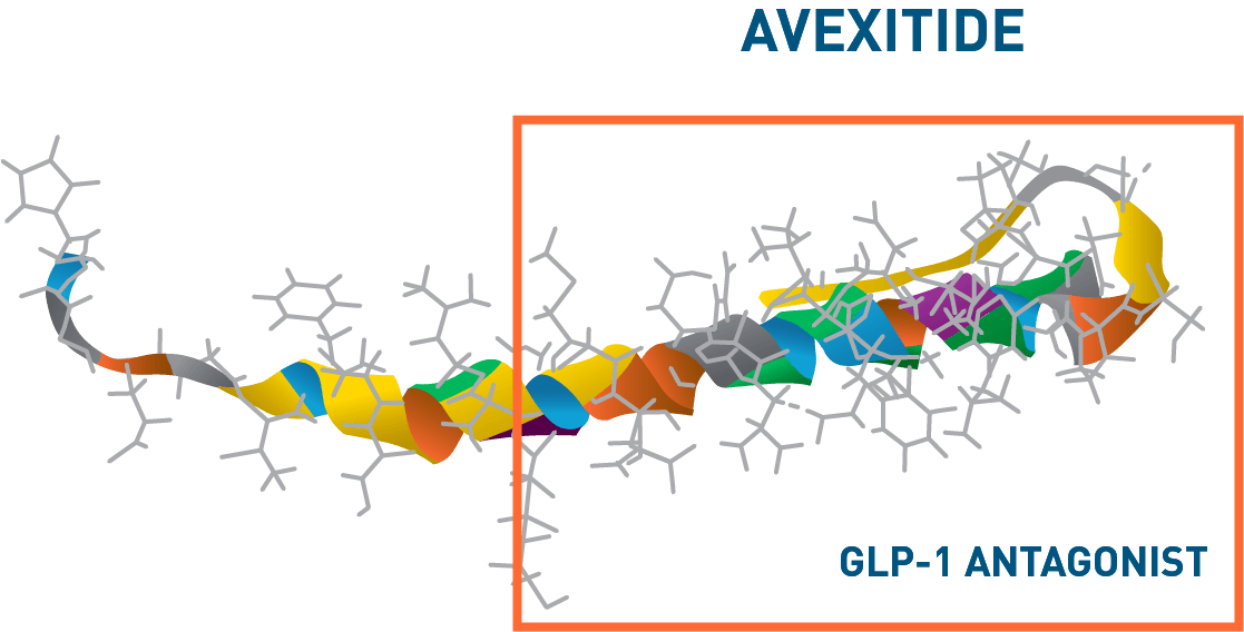 Avexitide: A 31 amino acid fragment of Exenatide*