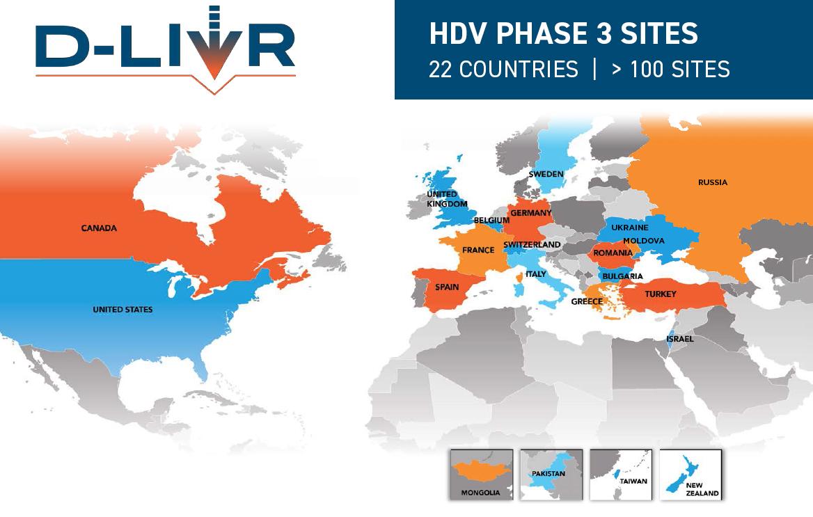 D-LIVR Map